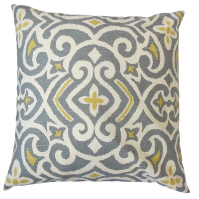 Caraf Cotton Throw Pillow by The Pillow Collection