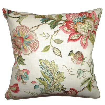 Adele Crewels Throw Pillow by The Pillow Collection