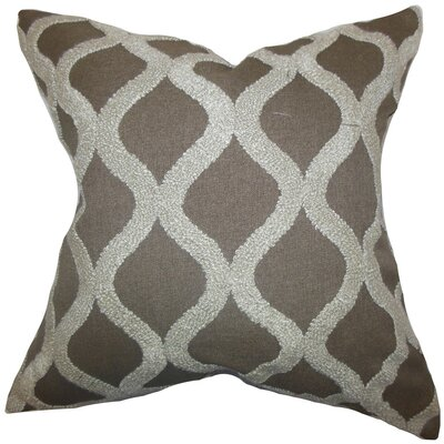 Katell Geometric Throw Pillow by The Pillow Collection