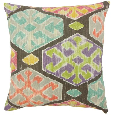 Radko Ikat Throw Pillow by The Pillow Collection