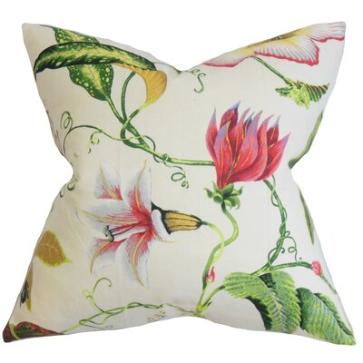 Fayola Floral Throw Pillow by The Pillow Collection