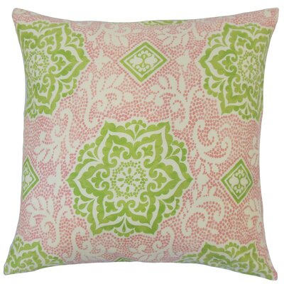 Yelimane Geometric Cotton Throw Pillow by The Pillow Collection