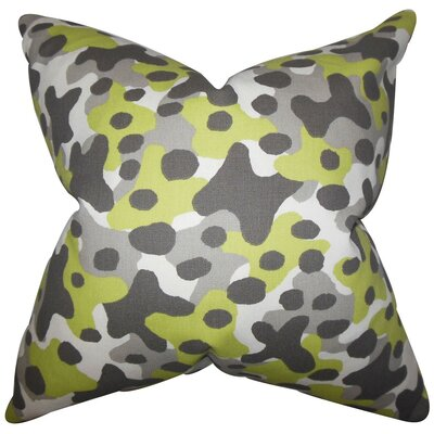 Dabney Geometric Cotton Thorw Pillow by The Pillow Collection
