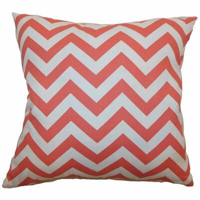 Xayabury Zig Zag Cotton Throw Pillow by The Pillow Collection