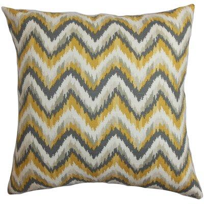 The Pillow Collection Perdita Cotton Throw Pillow