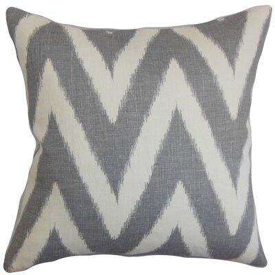 Bakana Cotton Throw Pillow by The Pillow Collection