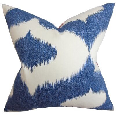 Leilani Ikat Throw Pillow by The Pillow Collection