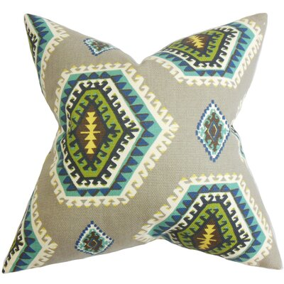 The Pillow Collection Lorne Geometric Cotton Throw Pillow