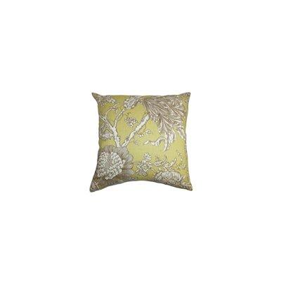 The Pillow Collection Panthea Floral Cotton Throw Pillow