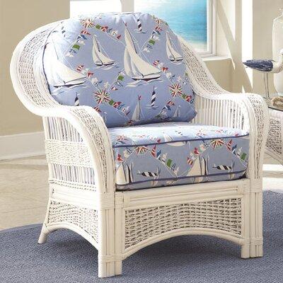 Spice Islands Wicker Regatta Arm Chair