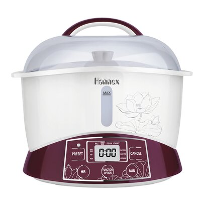 2.3-Quart Electric Multi-Stew Cooker/Steamer Pot by Hannex