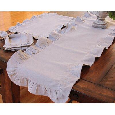 Ruffle Trim Table Napkin by Xia Home Fashions
