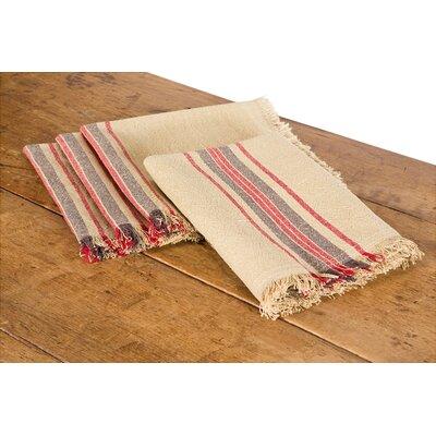 Stripe Linen Napkin by Xia Home Fashions
