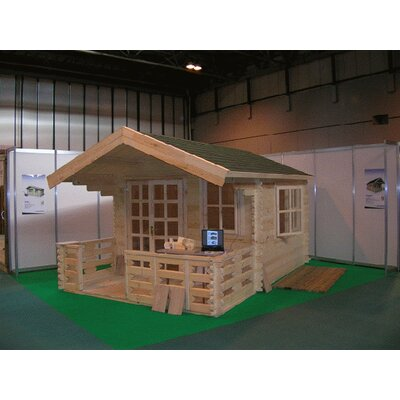SolidBuild Wales 10 Ft. W x 10 Ft. D Solid Wood Garden Shed