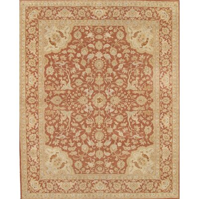 Tabriz Rust Traditional Persian Area Rug by Pasargad