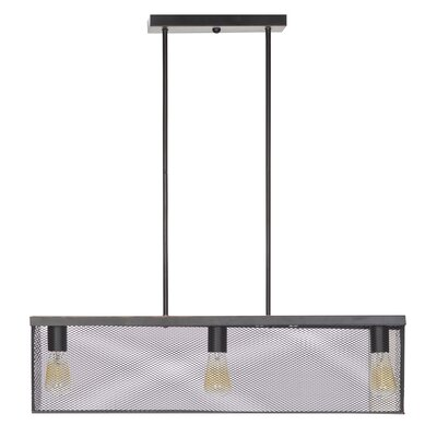 3 Light Linear Pendant Ceiling Light by Globe Electric Company