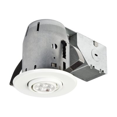 "LED IC Rated Swivel Spotlight 3"" Recessed Kit Product Photo"