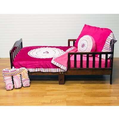 Sophia Lolita 4 Piece Toddler Bedding Set by One Grace Place
