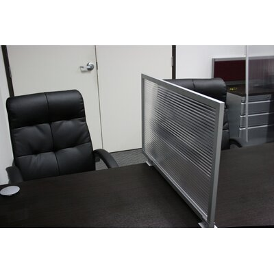 """OBEX 12"""" Desk Mounted Privacy Panel"""