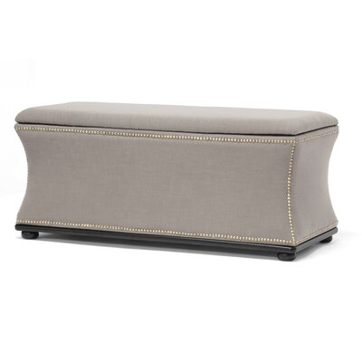 Baxton Studio Liverpool Upholstered Storage Bench by Wholesale Interiors