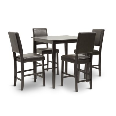 Love 5 Piece Counter Height Dining Set by Wholesale Interiors