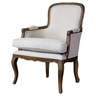 Baxton Studio Napoleon Traditional French Arm Chair by Wholesale Interiors