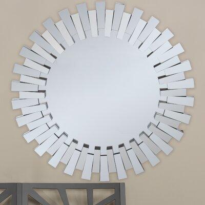 Baxton Studio Caton Round Wall Mirror by Wholesale Interiors