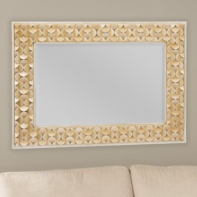 Baxton Studio Benner Rectangle Wall Mirror by Wholesale Interiors