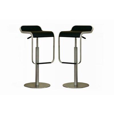 Cinsault Adjustable Height Swivel Bar Stool by Wholesale Interiors