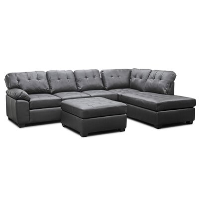 Baxton Studio Right Hand Facing Sectional by Wholesale Interiors