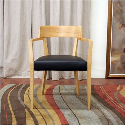 Baxton Studio Laine Modern Dining Chair in Light Honey by Wholesale Interiors