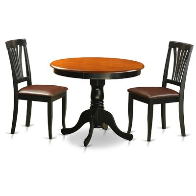 3 Piece Dining Set by East West