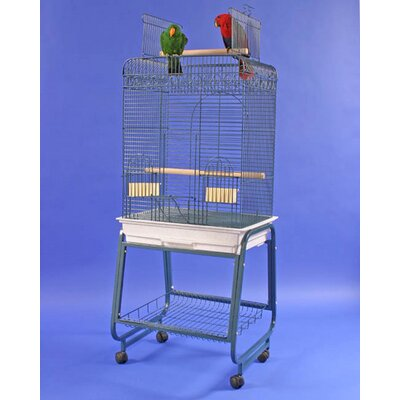 Play Top Bird Cage with Plastic Base by A&E Cage Co.