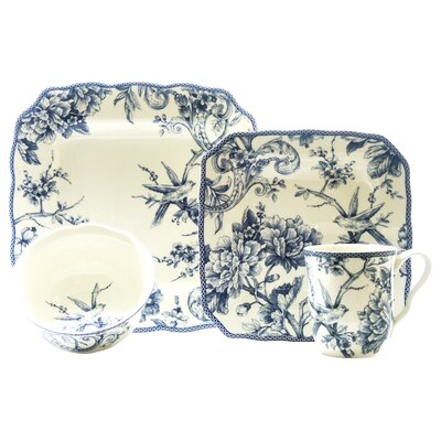 Adelaide 16 Piece Dinnerware Set by 222 Fifth