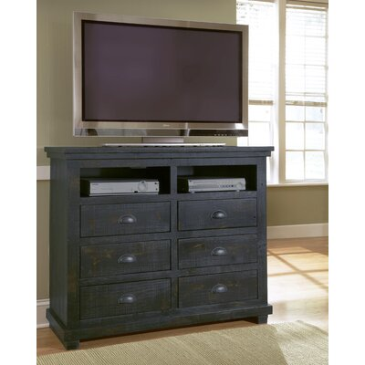 Willow 6 Drawer Media Chest by Progressive Furniture
