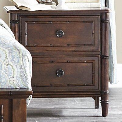 Emporium Bamboo 2 Drawer Nightstand by Progressive Furniture