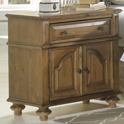 Surrey Bay 1 Drawer Nightstand by Progressive Furniture