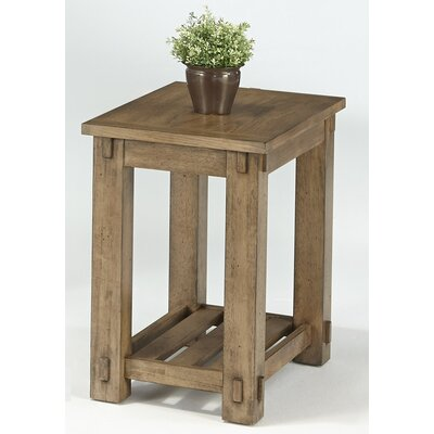 Boulder Creek Chairside Table by Progressive Furniture