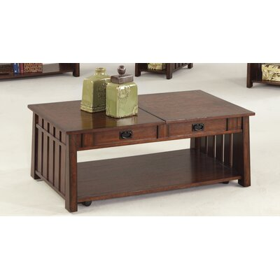 Mountain Mission Coffee Table with Lift Top by Progressive Furniture