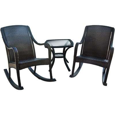 Orleans 3 Piece Rocker Seating Group by Hanover
