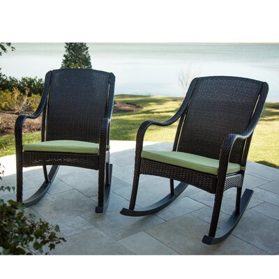 Orleans 2 Piece Rocker Seating Group with Cushions by Hanover