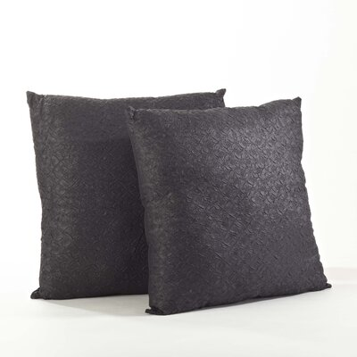 Crinkled Throw Pillow by Saro