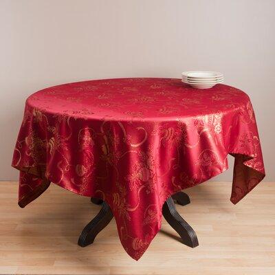 Jacquard Xmas Table Cloth by Saro