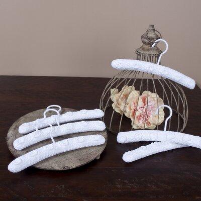 Saro Crochet Lace Hanger