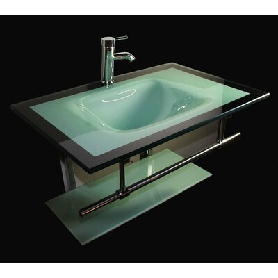 "31"" Single Floating Bathroom Vanity Set Product Photo"
