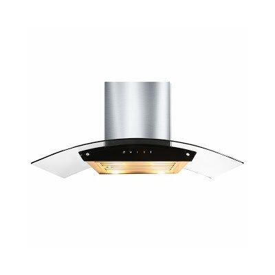 "36"" 860 CFM Wall Mount Range Hood in Stainless Steel Product Photo"