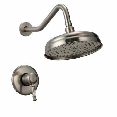 Rainsky Dual Function Tub and Shower Faucet with Lever Handles Product Photo