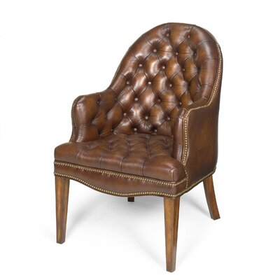 Cleveland Leather Executive Lounge Chair by Seven Seas Seating