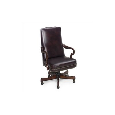 Evanston Leather Executive Chair by Seven Seas Seating