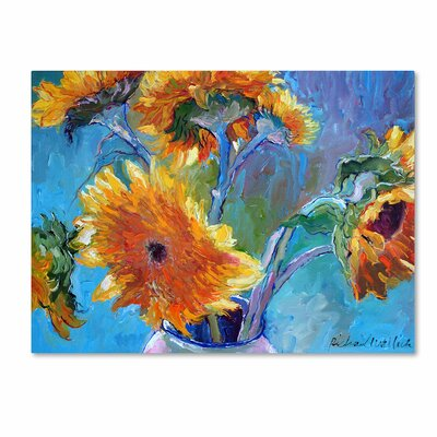'Sun 5' by Richard Wallich Canvas Art by Trademark Art